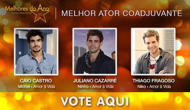 Melhores do Ano - Melhor Ator Coadjuvante (Foto: Domingão do Faustão / TV Globo)