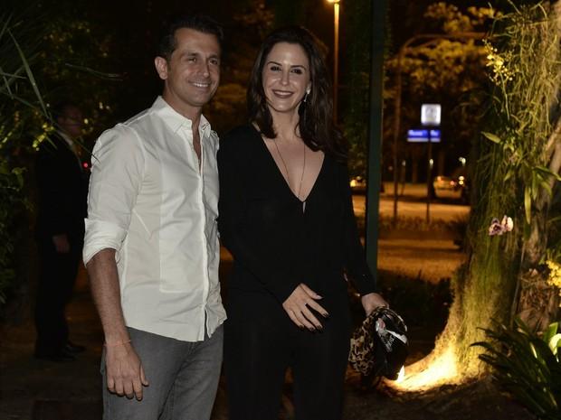 Guilhermina Guinle e o marido, Leonardo Antonelli, em festa na Zona Sul do Rio (Foto: Roberto Teixeira/ EGO)