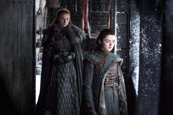 Sansa e Arya terão muito o que conversar em 'Beyond the Wall' (Foto: Divulgação)