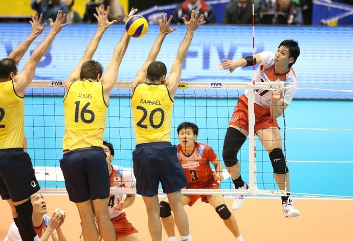 Brasil x Japão - Copa dos Campeões (Foto: FIVB)