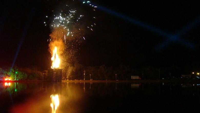 camaqua-rs-rio-fogueira-festa-junina (Foto: Divulgação/ Prefeitura de Camaquã)
