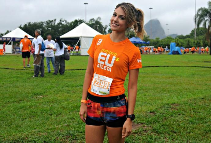 Jéssica Corrida Eu Atleta Rio (Foto: André Durão)