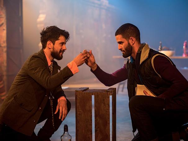 Cena do Espetáculo Romeu e Julieta- De almas sinceras a união sincera nada há que impeça (Foto: Divulgação)