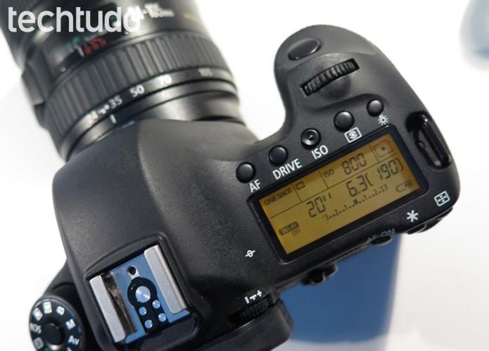 Brinque com as configurações da câmera (Foto: Daniele Starck/TechTudo)
