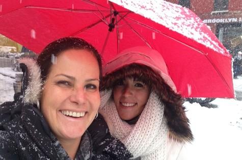 Renata Ceribelli com a filha Marcela (Foto: Arquivo pessoal)
