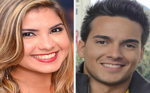 Andressa Nunes e Victor Cheu - antes e depois