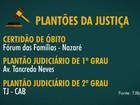 Órgãos judiciais têm atendimento alterado até sexta-feira na Bahia
