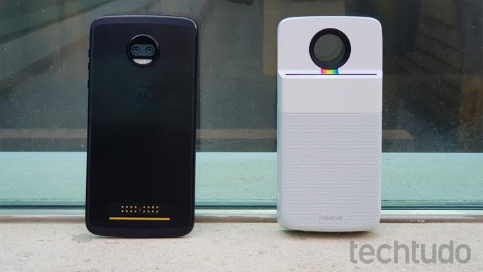 Motorola Polaroid (Foto: Bruno De Blasi/TechTudo)