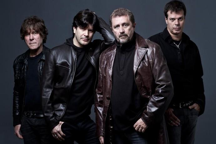RPM na época do lançamento do disco 'Elektra' (Foto: Divulgação)