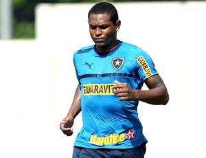 Jobson no treino do Botafogo (Foto: Jorge William / Ag. O Globo)