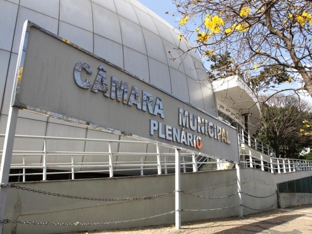 Entrada do plenário da Câmara de Vereadores em Campinas, SP (Foto: Câmara Municipal de Campinas)