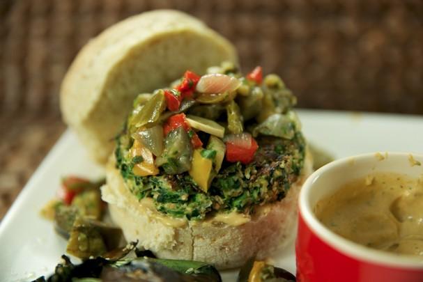 Hambúrguer de lentilha (Foto: Divulgação)