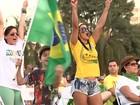 Manifestantes fazem protesto em cidades do noroeste paulista