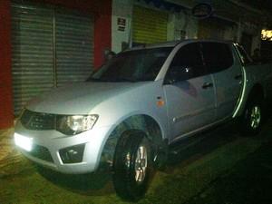 Veículo roubado de Baía Formosa, no Rio Grande do Norte, também foi apreendido pela polícia  (Foto: Divulgação/Polícia Militar)