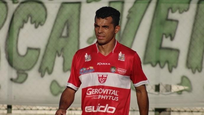 Johnnattan, volante do CRB (Foto: Leonardo Freire/GloboEsporte.com)