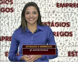 Confira as chances de estágios e empregos (Foto: RJTV 1ª Edição)