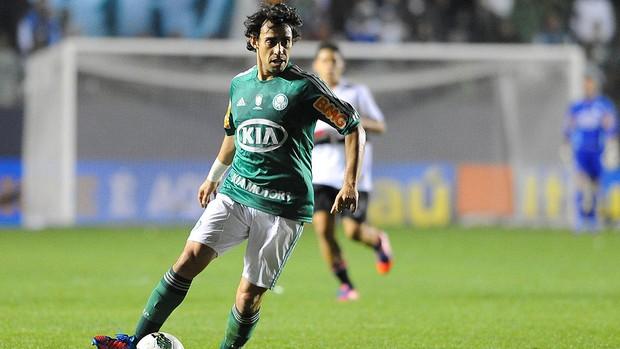 Valdivia, Palmeiras x São Paulo (Foto: Marcos Ribolli / Globoesporte.com)