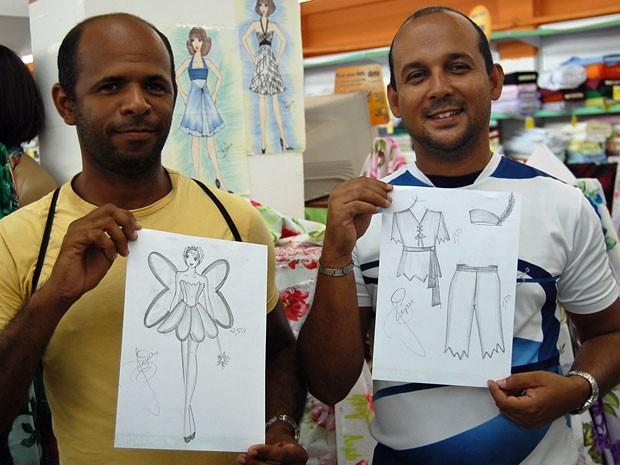 Foliões preferem criar a própria fantasia para curtir o Carnaval de Pernambuco. (Foto: Priscila Miranda / G1)