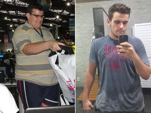 Ubirajara Esteves emagreceu quase 50 kg depois que trocou o sedentarismo pelo jiu jitsu (Foto: Arquivo pessoal/Ubirajara Esteves)