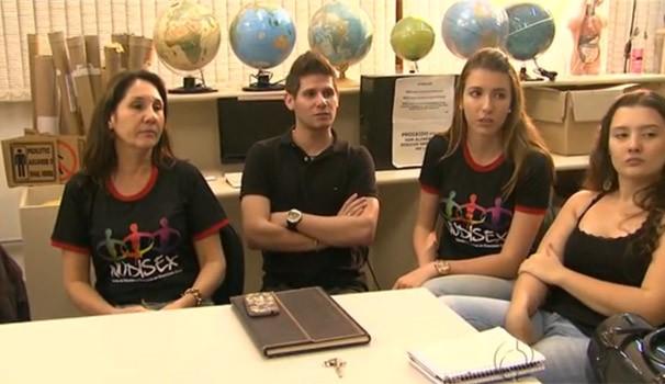 Televisando o Futuro fala sobre homofobia (Foto: Reprodução/RPC TV)