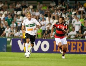 Deivid Coritiba Ibson Flamengo (Foto: Marcelo Andrade / Ag. Estado)