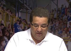 Cidão, técnico do Orlândia (Foto: César Tadeu / EPTV)