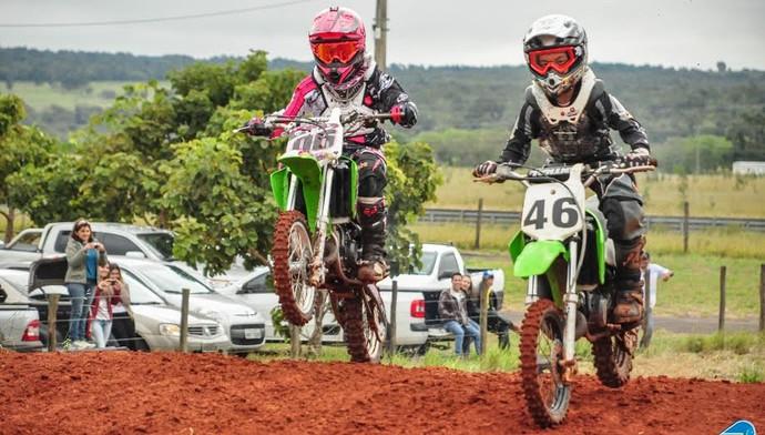 Provas da segunda etapa do estadual de motocross MX, em Campo Grande (Foto: Divulgação/Femems)