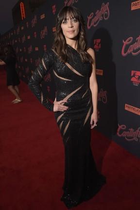 Ilse Salas em première de filme em Los Angeles, nos Estados Unidos (Foto: Jason Kempin/ Getty Images/ AFP)