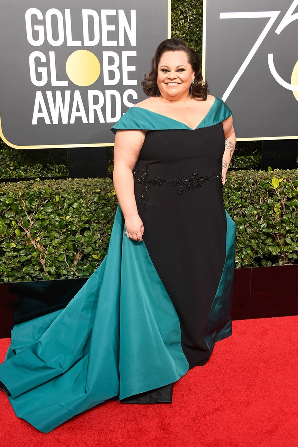 BEVERLY HILLS, CA - JANUARY 07:  Singer Keala Settle attends The 75th Annual Golden Globe Awards at The Beverly Hilton Hotel on January 7, 2018 in Beverly Hills, California.  (Photo by Frazer Harrison/Getty Images) (Foto: Getty Images)
