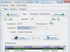rachota time tracker