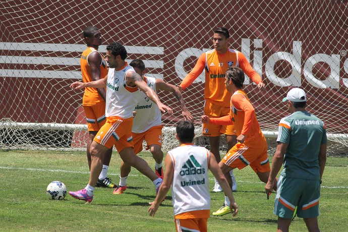 Fred, Treino do Fluminense (Foto: Fernando Cazaes / Photocamera)