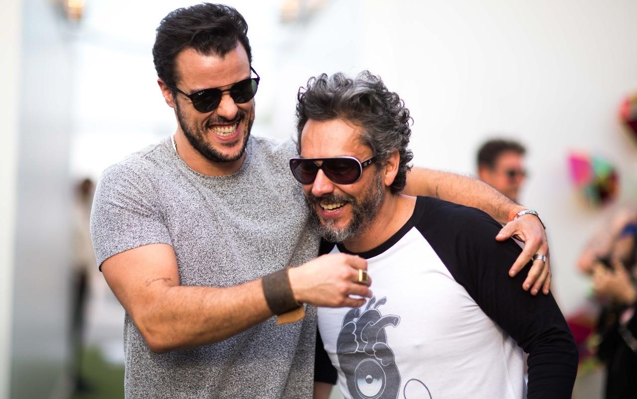Joaquim Lopes e Alexandre Nero (Foto: Foto: Samuel Kobayashi )
