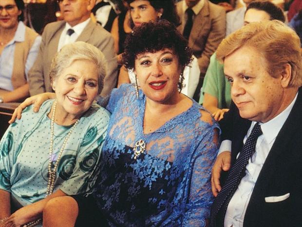Norma Geraldy, Marilu Bueno e Cláudio Corrêa e Castro em