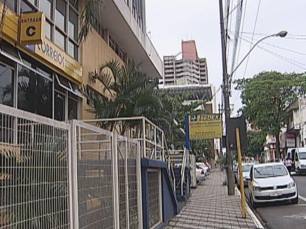 Funcionários dos Correios aderem à greve em Bauru.  (Foto: reprodução/TV Tem)