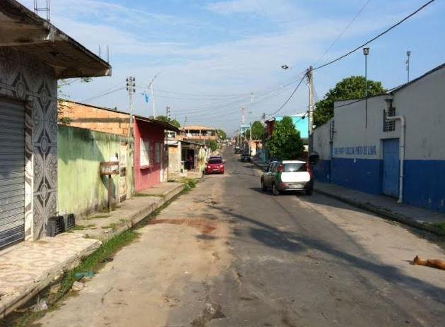 Homicídio ocorreu na noite de terça-feira (Foto: Adneison Severiano/G1 AM)