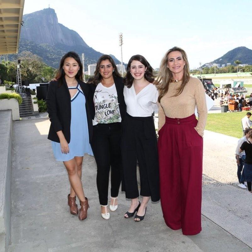 Sandra Cezarete, Raphaella Bahia, Mariana Ishizaka e Luiza Barros (Foto: Luiza Barros)