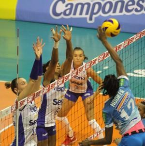 Rio de Janeiro Minas Superliga (Foto: Alexandre Arruda/Divulgação Rexona-Sesc)