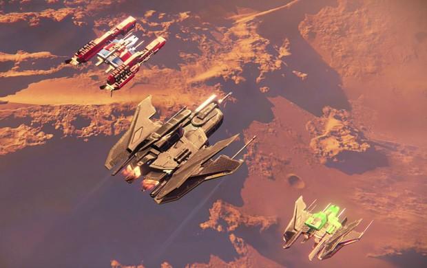 'Destiny' ganhou novas naves na expansão 'A escuridão subterrânea' (Foto: Reprodução/G1)