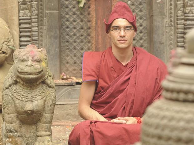 Caio Blat viajou ao Nepal para gravar cenas da novela  (Foto: Renato Rocha Miranda / Tv Globo)