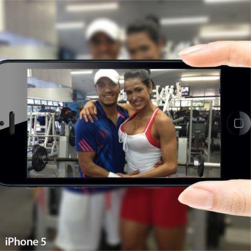 Belo e Gracyanne (Foto: Instagram/Reprodução)