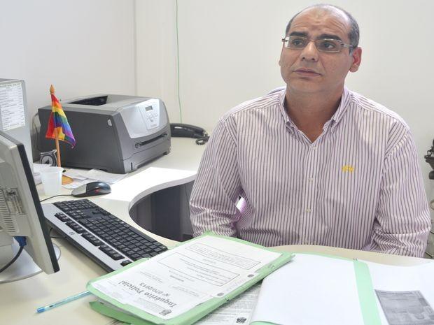 Delegado Mário de Carvalho Leony, do DHPP (Foto: Marina Fontenele/G1)
