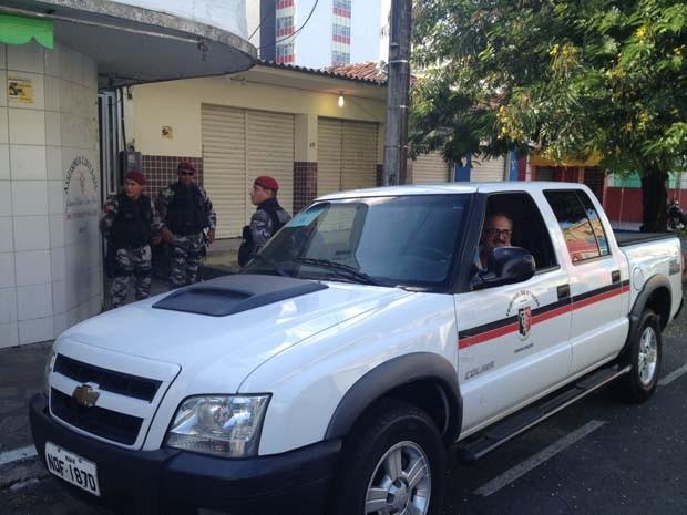 Operação contra corrupção em várias cidades da PB (Foto: Walter Paparazzo/G1)