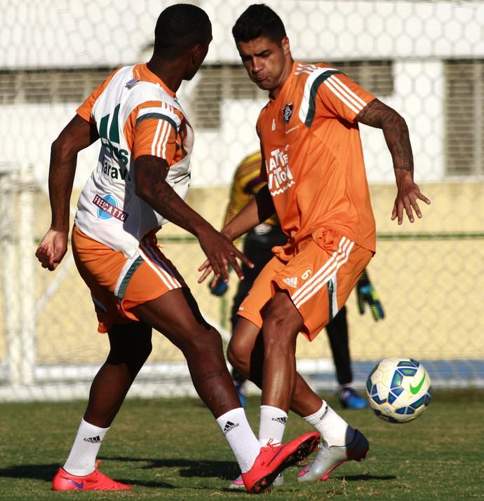 Giovanni treino Fluminense Urca (Foto: Nelson Perez / Fluminense FC)
