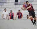 """Após 180 minutos, Eduardo da Silva se vê """"perto do alto nível"""" no Atlético-PR"""