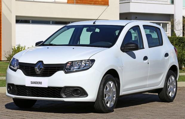 Renault Sandero Expression (Foto: Divulgação)