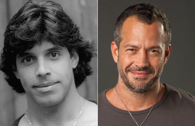Alexandre Frota e Malvino Salvador (Foto: Divulgação - TV Globo)