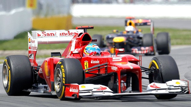 Alonso no GP do Canadá (Foto: Reuters)