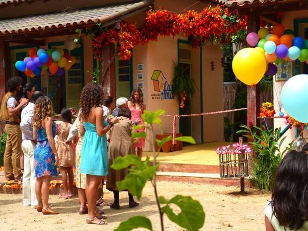 ONG Casa Amar (Foto: Vila dos Ventos / TV Globo)