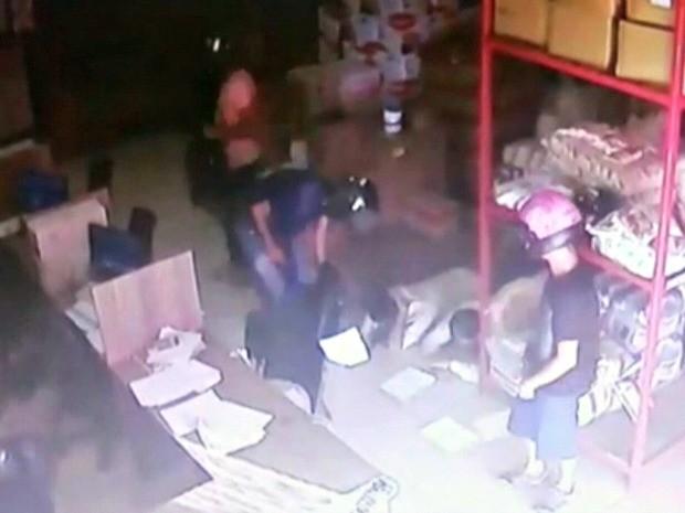 De acordo com a polícia, mais de 600 roubos são registrados em 44 dias  (Foto: Reprodução/Rede Amazônica Acre)