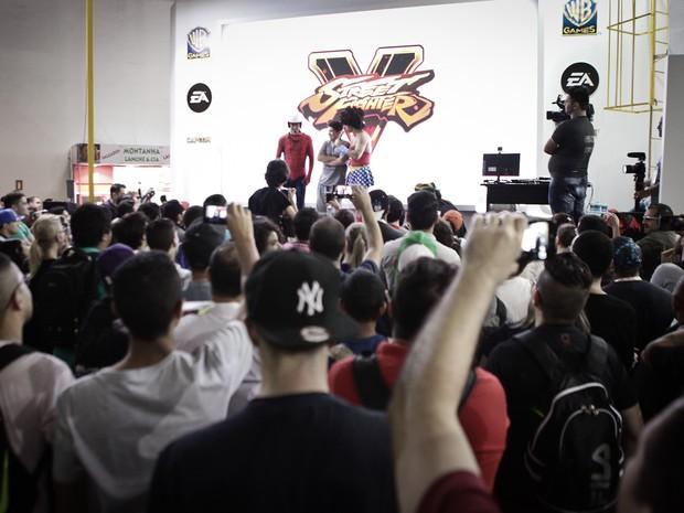 Brasil Game Show acontece na Expo Center Norte, em São Paulo (Foto: Caio Kenji/G1)